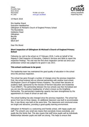 thumbnail of Gillingham St Michaels Church of England Primary School 10041813 PDF